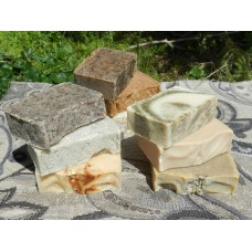 Soap Loaf - Lard and Lye  Soap Selection Pack 2. Aloe Vera Tea Tree Cedar Wood Cucumber and More!