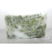 Lard and Lye Acne Buster Herbal Soap with Tea Tree and Rosemary Essential Oils and Peppermint, Echinacea, Oregano, Wild Violet and Dandelion   2 bars