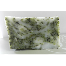 Lard and Lye Rosemary and Tea Tree Essential Oil Bar Soap with Oregano, Echinacea, Peppermint, Dandelion and Wild Violet