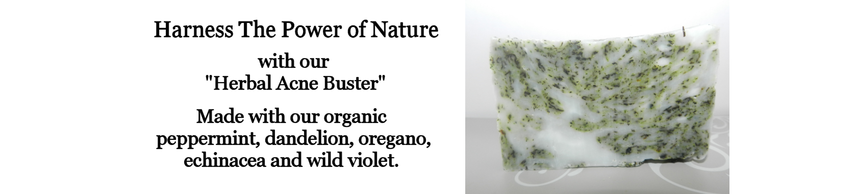 Lard and Lye Herbal Acne Buster Soap