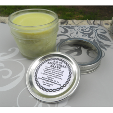 3.5 oz  Herbiral Salve. Lemongrass. Lemon Balm, Anise Hyssop, Echinacea and Oregano Salve. Herpes Herbal Salve Cold Sores