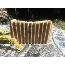 Lard and Lye Soap For Men with Goldenrod, Frankincense and Myrrh