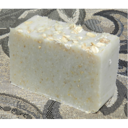 Unscented Coconut Milk Soap with Oatmeal Lard and Lye Bar Soap Fragrance Free
