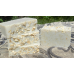 Four Bars of Unscented Coconut Milk Soap with Oatmeal Lard and Lye Bar Soap Fragrance Free