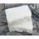 Two Bars of 100% Organic Coconut Oil Bar Soap with Raw Tussah Silk