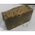 DARK Pine Tar Lard and Lye Bar Soap, Four bars. Closed Kiln Creosote Free