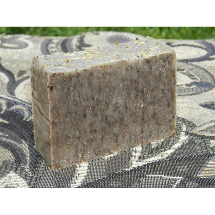 Diatomaceous Earth Dog Bar Soap Natural Flea Tick Rosemary Lavender Coconut Oil. For You and Your Dog.
