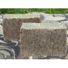 Two Bars of Diatomaceous Earth Dog Soap Rosemary Lavender Coconut Oil. For You and Your Dog.
