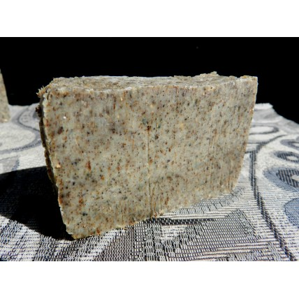 Wormwood Bar Soap with Oregano and Echinacea. Old Fashioned Lard and Lye Bar Soap.