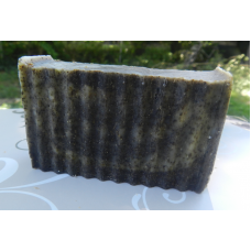 Soap For Oily Skin with Plaintain Charcoal, Mint and Sage.  Lightly Fragranced with Peppermint Essential Oil