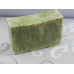 Soap Loaf - Lard and Lye  Soap with Organic Lemongrass and Lemongrass Essential Oil - 9 Bars of soap