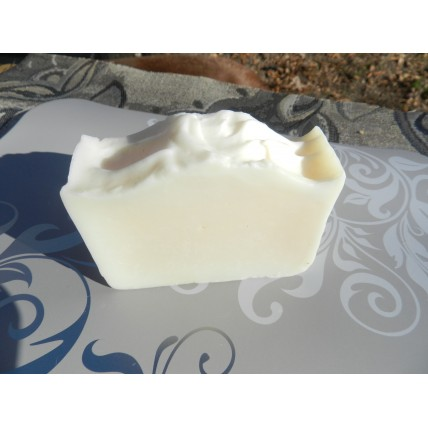 Lard and Lye Soap, plain,  single bar.