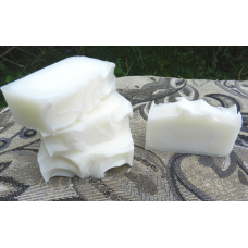 Lard and Lye Soap, plain. Four bars.  Grandma Style Traditional Lard and Lye Soap.