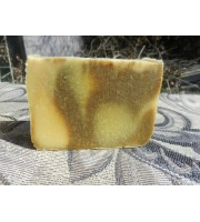Lemongrass and Yogurt Lard and Lye Soap, Single bar