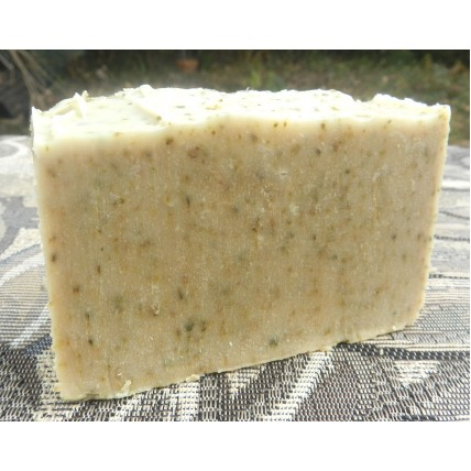 Patchouli Soap, with Patchouli, Patchouli Essential Oil, Green Tea and Tussah Silk