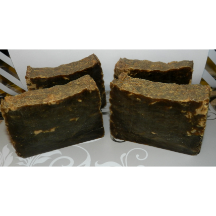 Pine Tar Soap Traditional Lard Soap with Pine Tar, four bars. Great soap for skin conditions.