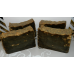 Dark Pine Tar Soap Lard and Lye Soap with DARK Pine Tar. Single bar.
