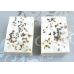 2 Salt Bars with Red Kelp and Californian Sea Salt. Lard and Lye Salt Bar Soap