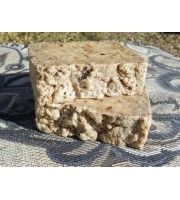 Mullein and Goat's Milk Lard and Lye Grits Bar Soap, Two Bars  Fragrance Free Unscented