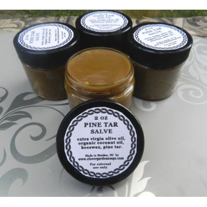 WHOLESALE 10 Hand Made Pine Tar Salves 2 oz. Ideal for Scent Masking, Hunting and More!