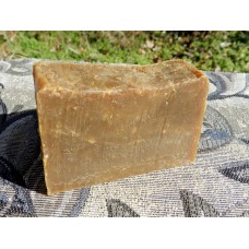 Solid Shampoo Bar with Pine Tar and Tea Tree Essential Oil. Closed Tank Method Pine Tar.